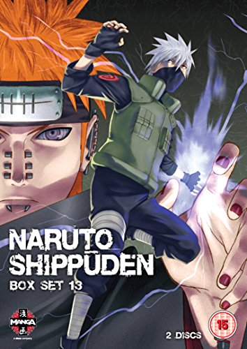 Naruto Shippuden Box 13 (Episodes 154-166) [DVD] [Import anglais]