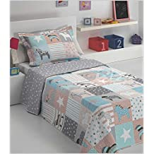 Dolz Bouti Linda para cama de 90 cm en medida 180 x 270 cm + 1 funda de cojin 50 x 70 cm