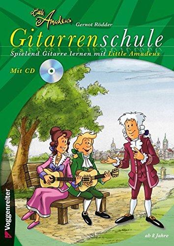 Little Amadeus Gitarrenschule, mit CD