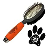 Professional Double Sided Pin & Bristle Brush - Best Reviews Guide