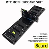 ningbao551 DDR3 Memory Notebook Motherboard Suit Support 8 Cards Laptop Supplies with SATA MSATA Sockets Easy Installation