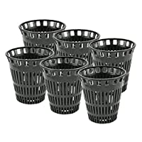 DANCO Hair Catcher Replacement Baskets for Stand-Alone Shower Drains | Hair Trap | Hair Drain Clog Prevention | 6-Pack (10739P)