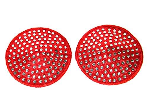 Czj-Innovation Réutilisable Nipple Cover Rond Une paire de pâtes Bra