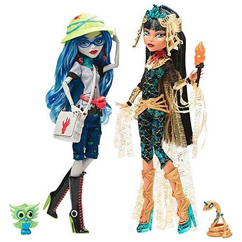 Mattel Monster High Monster High Cleo De Nile & Ghoulia Yelps Fashion Puppe (Monster High Cleo De Nile)