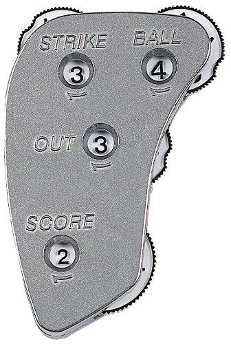 Markwort Umpire Indikator aus Aluminium, 4 Ziffern -