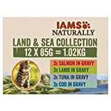 Iams Naturally Land & Sea Collection in Sauce