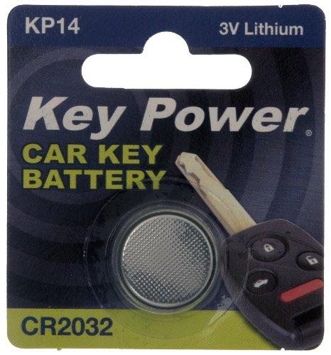 Preisvergleich Produktbild Key Power cr2032-kp Auto Schlüsselanhänger Lithium-Batterie 3V