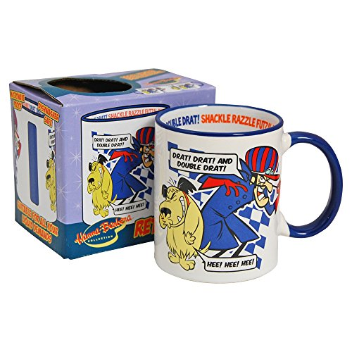 Dastardly and Muttley Gift Boxed Mug. Drat, Drat and