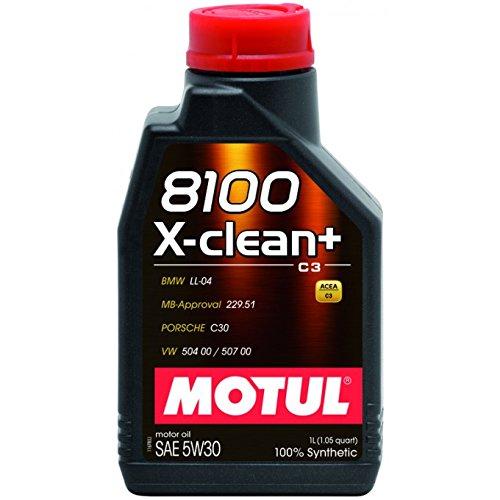 Motul 103989 Motoröl 8100 X-Clean+ 5W-30, 20 L