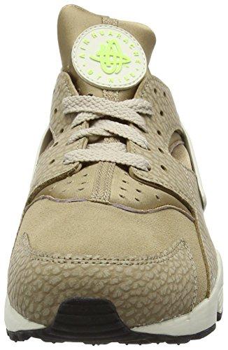 Nike Herren Air Huarache Run Prm Laufschuhe Beige (Desert Camo/String/Ghost Green/Sea Glass)