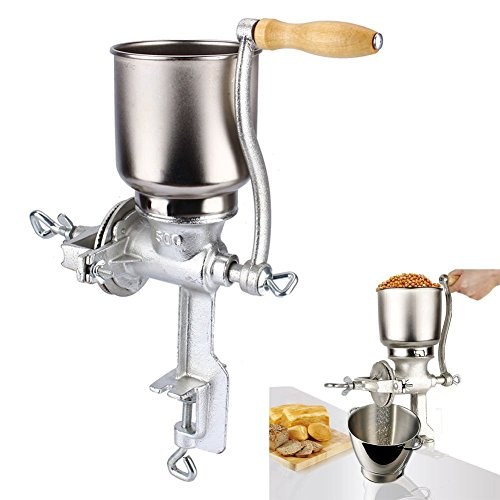 GOTOTOP Getreide Korn Mühle Mohnmühle Handmühle Kaffeemühle Nussmühle Küchenhelfer