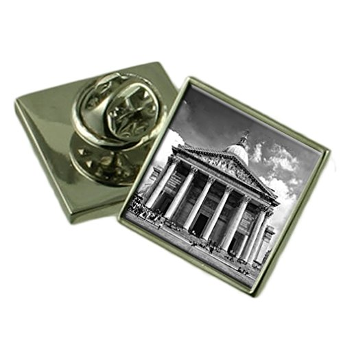 Select Gifts Pantheon Griechenland Sterling Silber Ehrennadel Geschenkbox Sterling Pantheon