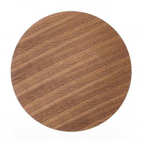 Ferm Living Tischplatte Deckel Top für Wire Basket Top - Smoked Oak - Large geräucherte Eiche / für den Wire Korb von Ferm Living (Wire Korb)