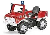 rolly toys 036639 - Tret-Unimog Feuerwehr