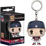 NFL Houston Texans J.J. Watt Pocket Pop! Vinyl Keychain