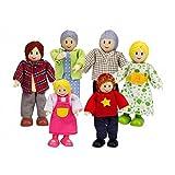 Puppenfamilie, helle Haut