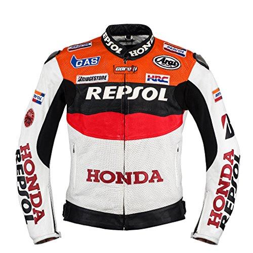 Honda Repsol Team Leder Jacke (M (EU50)) (Honda Team Jacke)