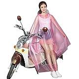 BOLAWOO Elektrische Auto Regenmantel Erwachsenen Poncho Motorisierten Autobatterie Motorisierten Frauen Transparenten Mode Marken Hut Regenmantel (Farbe : D) (Color : G, Size : One Size)