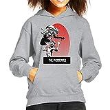 The Passenger Red Alien Iggy Pop Kid's Hooded Sweatshirt