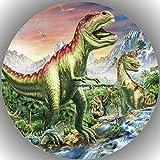 Premium Esspapier Tortenaufleger Dinosaurier T18