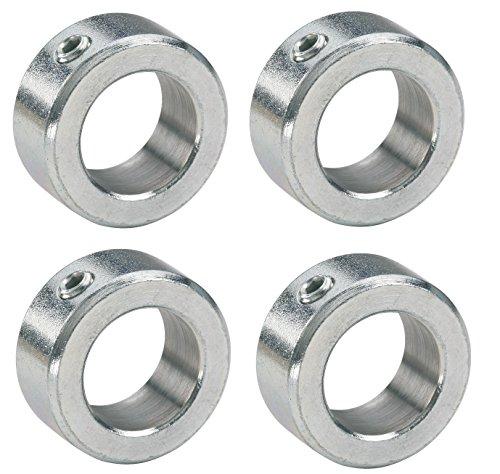 4 x Stellringe für 20mm Achse / Welle Verzinkt DIN705 A