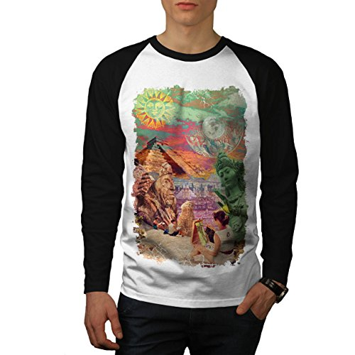 wonders-of-world-artist-maker-men-new-white-black-sleeves-m-baseball-ls-t-shirt-wellcoda