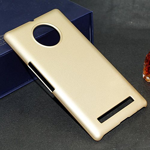 WOW Imagine(TM) Rubberised Matte Hard Case Back Cover For Micromax YU YUPHORIA (CHAMPAGNE GOLD) With Free UltraClear Screen Guard