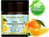 Azahar (Pacífico)–Aceite de mantequilla 100% natural/RAW/100% Pure Botanical. Calidad Premium. 4fl. oz.-120ml. Para Cuidado De La Piel, Cabello y Uñas 120ml