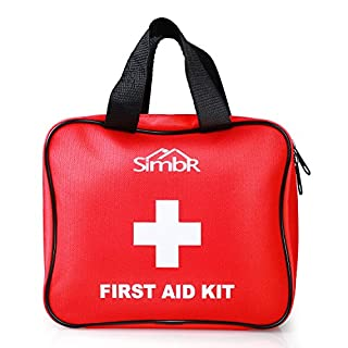 SIMBR First Aid Kit (Medical Tool Style-120 Piece) : Compact for Emergency at Home, Outdoors, Car, Camping, Workplace, Hiking & Survival