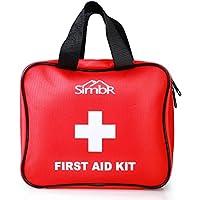 Simbr Erste Hilfe Set mit Rettungsdecke, Alkoholkompresse, Eisbeutel 121-Teilig für Zuhause, Reise, Campingplatz preisvergleich bei billige-tabletten.eu
