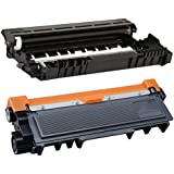 Ti de SA Basic XXL tóner reconstruido para Brother TN2320 TN 2320 para Brother MFC L 2700 DW – Black – Potencia: aprox. 5200 páginas/5%, color (06) 1x Toner + 1x Trommel - Black