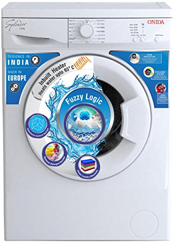 Onida 5.5 kg Fully-Automatic Front Loading Washing Machine (WOF5508NW, White)
