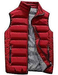 Weise Herbst Winter Mantel, Quaan Klassisch Einfachheit Retro Sport Sweatshirt weich Modus Formal befallen Geschäft Gepolstert Baumwolle Weste Warm Dick Weste Tops Jacke