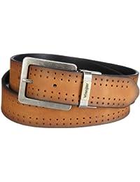 Wrangler Men's Ctf&Rev Belt Ii Cognac Belt