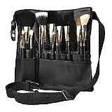 Hotrose 22 poches de maquillage brosse cosmétiques professionnels Sac avec ceinture Artiste Strap pour les femmes