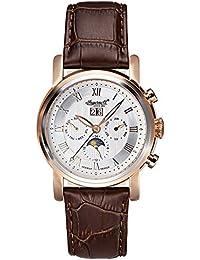 Ingersoll Herren-Armbanduhr Boise Chronograph Automatik Leder IN1229RSL