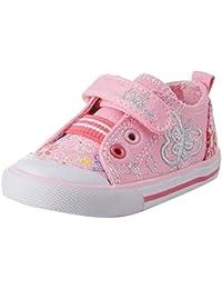 LHWY Bambino Bambine Bambini Moda Bowknot Sneaker Stivali Cerniera Scarpe Casual (29, rosso)