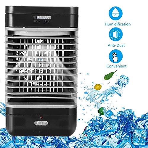 Huainiu Mobile Klimaanlage BüRo Leise, Sommer-Air Cooler Spray, LuftküHler FüR Zimmer/Camping/Schreibtisch, Klimaanlage Ventilator Jalousie Abluft -