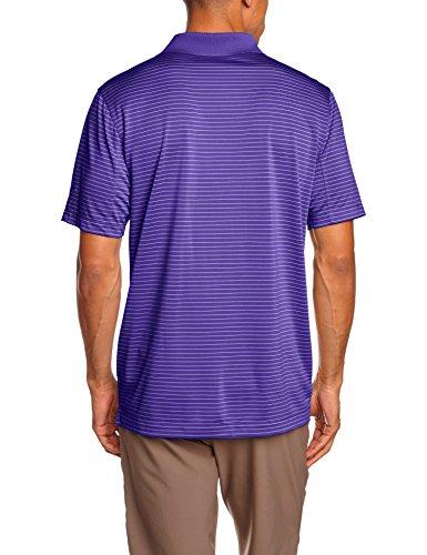 NIKE Herren Polohemd Victory Stripe Court Purple/White
