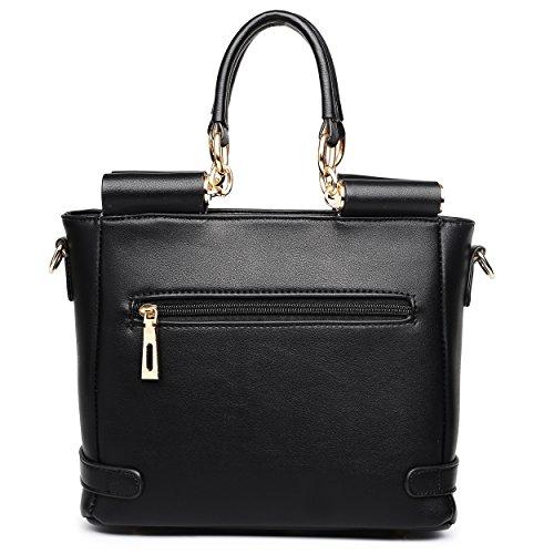 Bags & Purses, Borsa tote donna Multicolore (Black & White)