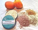 Gesichtsmaske Aprikose küsst Buttermilch - bei normaler bis empfindlicher Haut, ohne Palmöl und Konservierungsstoffe, Gesichtsmaske aus natürlichen Heilerden von kleine Auszeit Manufaktur