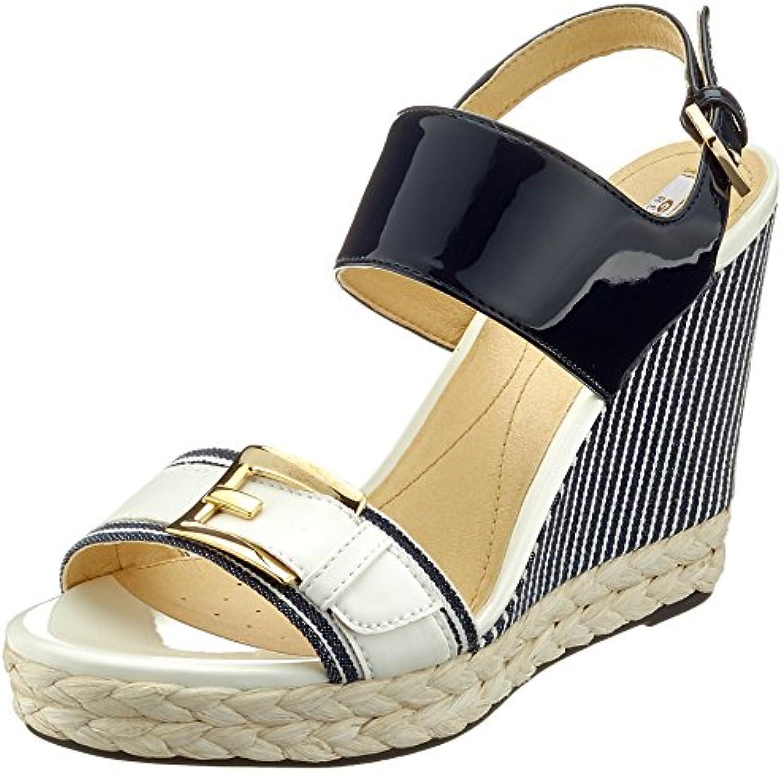 Geox Donna Janira E, Sandali con Zeppa | Shopping Online  | Maschio/Ragazze Scarpa