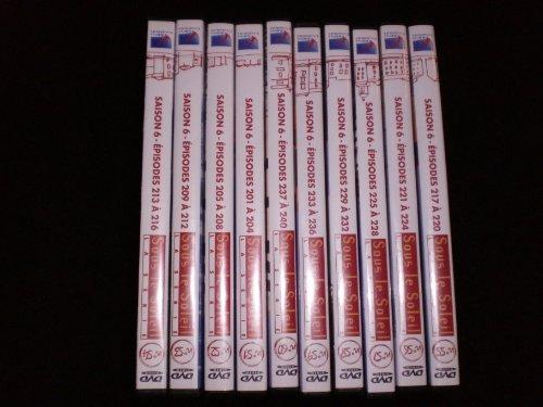 Coffret 10 DVD Sous le Soleil Intégrale saison 6