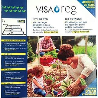 Kit riego por exudación huerto 12m² Visa Reg