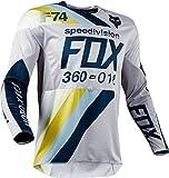 Fox Jersey 360 Draftr Grau Gr. XXL