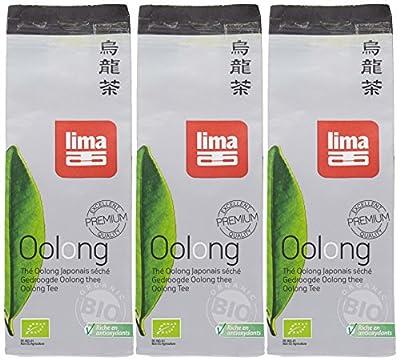 Lima Thé Oolong en vrac Bio 75 g - Lot de 3