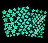 Louis-Michel leuchtende Sterne für den perfekten Sternenhimmel, Leucht-Wand-Sticker-Aufkleber selbstklebend, Dekoration für Kinderzimmer (148 Premium Leucht-Sterne)