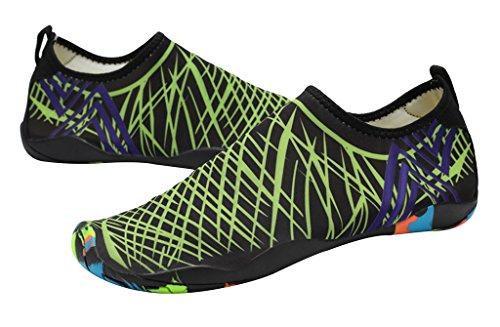 Geval Donna Scarpe Gli Sport Nuotare Acqua Leggero Asciugatura veloce Verde