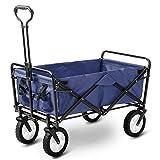 LIFE CARVER Garten Legen Zusammenklappbar Ziehen Wagon Hand Cart Garden Transport Wagen Faltbar Tragbar Faltbar Warenkorb