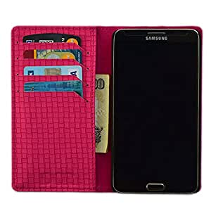 DSR PU Leather Flip Case Cover For Samsung Galaxy Note 4